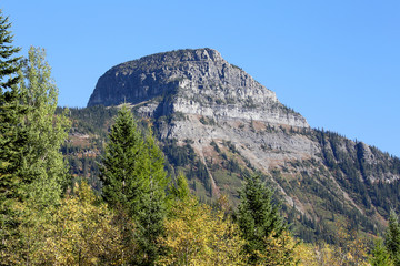 Wall Mural - Majestic Mountain in Glacier National Park