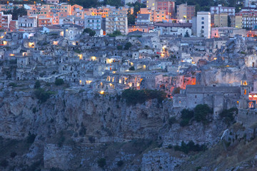 Europe,Italy,Basilicata,Potenza district,Matera,sassi di Matera,European Capital of Culture