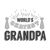 Isolated Grandparents day quotes on the white background  I