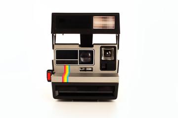 analoge retro Sofortbildkamera