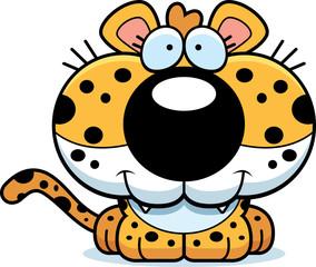 Cartoon Leopard Smiling