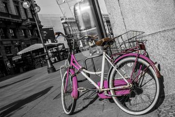 Pink Bike in Milano