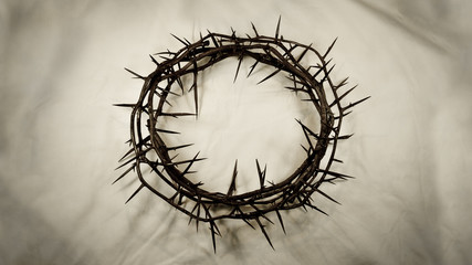 Crown of Thorns – Center (Real Thorns)