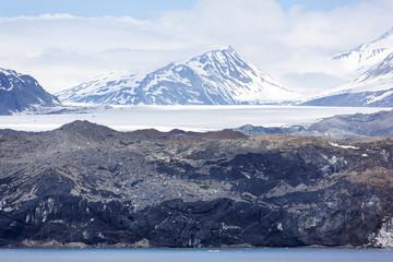 Alaska's Black Glacier