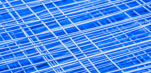 Blue metal construction