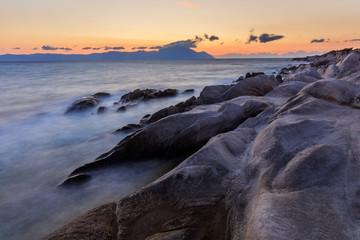 Orange Beach. Halkidiki, Greece