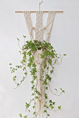 macramé porte-pots de plantes, artisanat