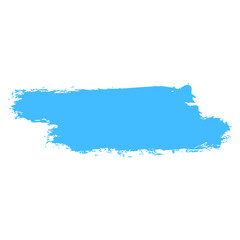 Blue Brushstroke Paint