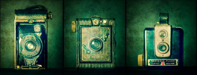 Retro vintage style camera