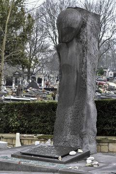 Mémorial des déportés d'Auschwitz-Birkenau / Cimetière du Père Lachaise / Paris
