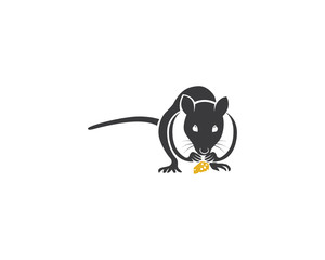 Mouse logo vectors icons and template