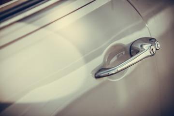 Vintage car door handle