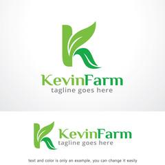 Letter K Leaf Logo Template Design Vector, Emblem, Design Concept, Creative Symbol, Icon