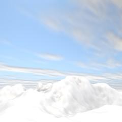 3d rendering of arctic environment