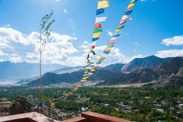 チベット仏教の旗:ルンタ