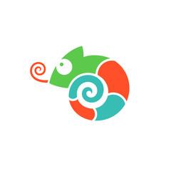 Chameleon. Logo