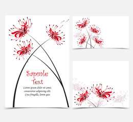Red Flower Lycoris