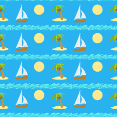 Ongoing vector pattern. Travel background