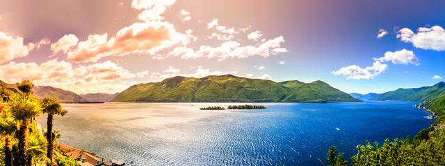 Lago Maggiore und die Brissago Inseln
