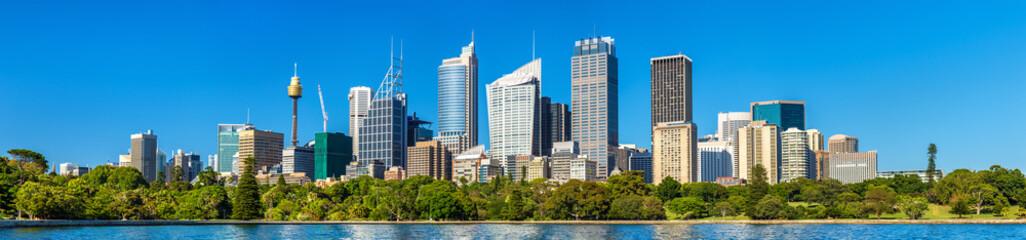Fotorollo Sydney Panorama of Sydney central business district - Australia