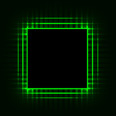 CPU. Printed circuit board. Motherboard. Chip. Computer. Abstract background. Vector Image.
