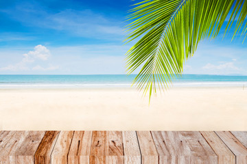 summer beach concept for background
