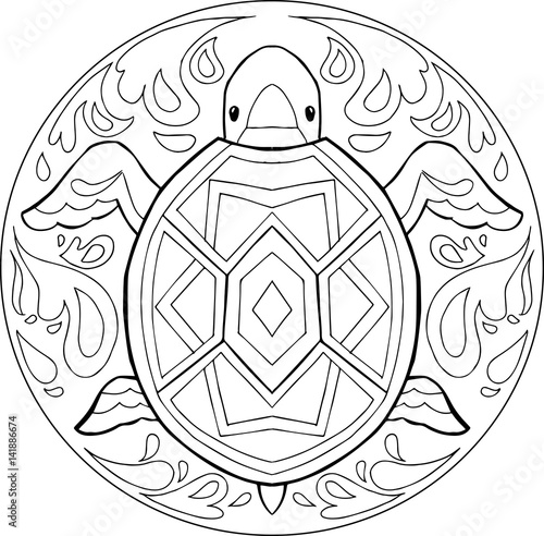 """water mandala coloring pages 