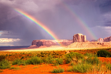 Rainbow's End in Navajo Country