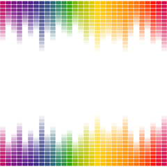 Equalizer background seamless