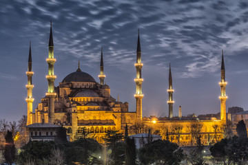 Blue Mosque -Sultanahmet Mosque Istanbul, Turkey