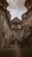 Monumental walls of charming ruins.