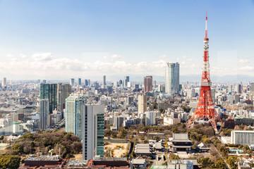 Tokyo Tower, Tokyo Japan Fototapete