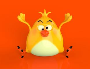 Silly Fat Bird
