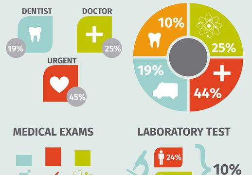 Mulitpurpose Medical Infographic