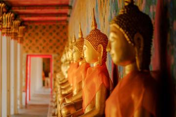 Buddha statue at Wat Arun, Bangkok Thailand