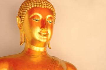 Buddha statue at Wat Pho.