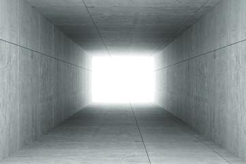 Kwadratowy tunel 3D
