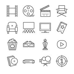 Films and Movies icon set