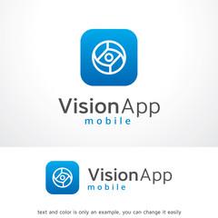 Abstract Circle Eye Logo Template Design Vector, Abstract Emblem, Design Concept, Creative Symbol, Icon