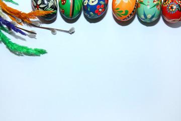 Obraz Tło Wielkanocne - fototapety do salonu