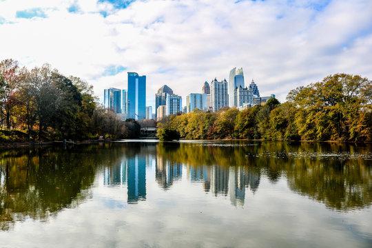Piedmont Park - Atlanta Skyline
