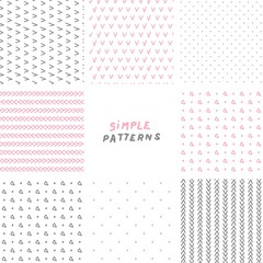 simple hand drawn patterns