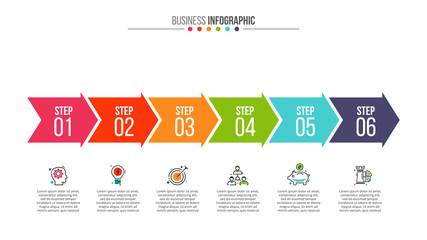 Business data visualization. Fototapete