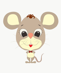 funny little mouse boy