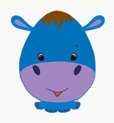 funny hippo boy