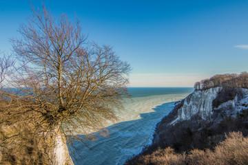 Kreidefelsen auf der Insel Rügen - Chalk cliffs on Rügen island