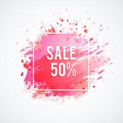 Sale-pink-spot