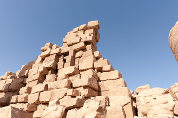 Tempelanlage in Ägypten