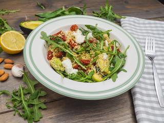 Healthy couscous salad