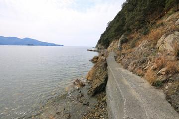 愛媛県西予市 須崎海岸